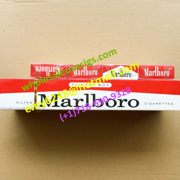Online Discount Marlboro Red Regular Flip-Top Box Cigarettes 10 Cartons